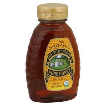 Dutch Gold Organic Pure Honey 12 oz