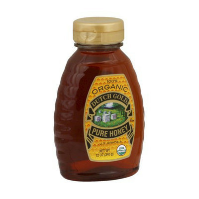 Dutch Gold Organic Pure Honey 12 oz