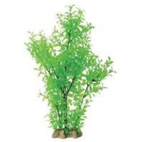 Pure Aquatic Natural Elements Green Ludwigia Aquarium Ornament in Green