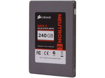 Corsair Neutron Series GTX 2.5Inch 240GB 6Gbs SATA 3 Exclusive LAMD LM87800 Toggle SSD CSSDN240GBGTX