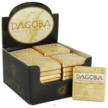 Dagoba Organic Chocolate Milk, 37% Cacao 9 GR