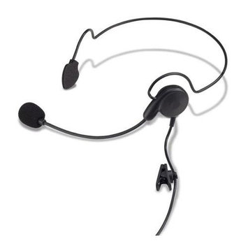 KENWOOD KHS-22 Headset, Over the Head, On Ear, Black