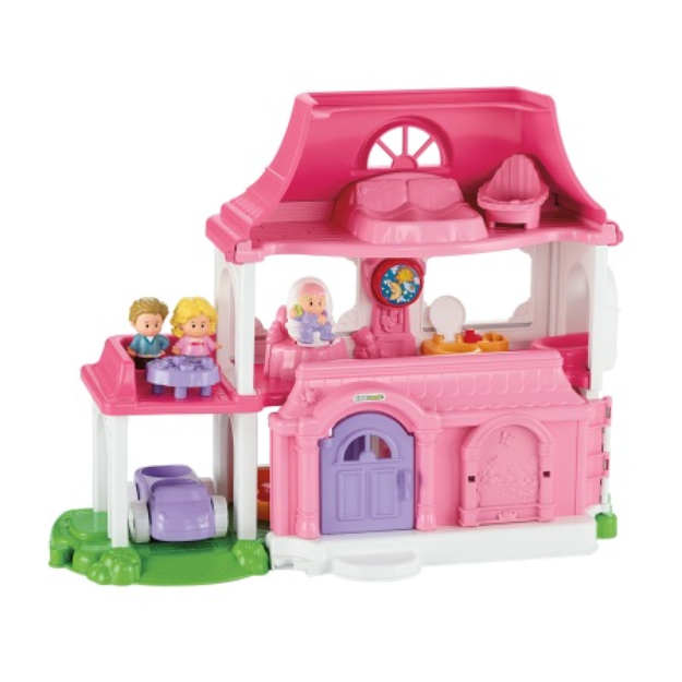 Fisher-Price Little People Happy Sounds Home, 1 ea