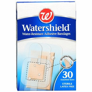 Walgreens Watershield Water-Resistant Adhesive Bandages