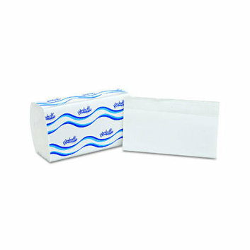 WINDSOFT Embossed Single fold Paper Towel in White