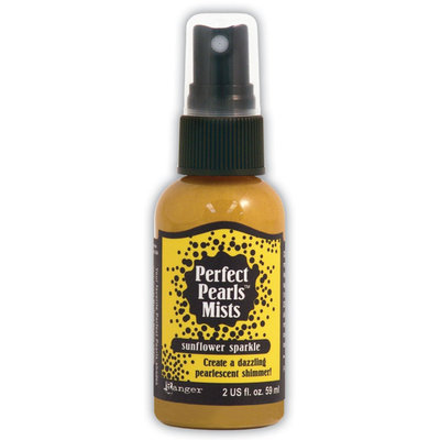 Ranger Industries RANGER Perfect Pearls Mists 2 Ounce Bottle, Sunflower Sparkle - RANGER INDUSTRIES INC.