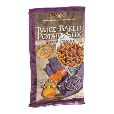 Jaxn's Potato Stix Twice-Baked Sweet Potato