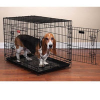 Pet Pals ZW607 48 Everlasting Crate with Dual Doors Xlg 48x30x35 In S