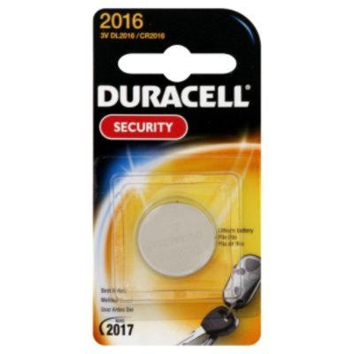 Duracell DL2016BPK 3-Volt Lithium Security 2016 Battery