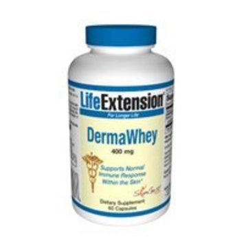 Life Extension DermaWhey | 400 mg, 60 capsules ( Multi-Pack)