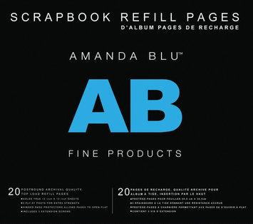 Amanda Blu Postbound Page Protectors 12