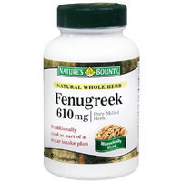 Nature's Bounty Natural Whole Herb Fenugreek 610 mg