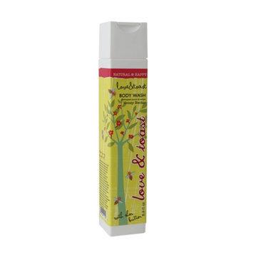 Love & Toast Body Wash, Honey Nectar, 8 fl oz
