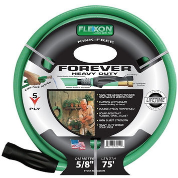 Flexon 5/8in x 75ft Forever Plus Garden Hose