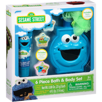 Sesame Street Cookie Monster & Friends Bath & Body Set, 6 pc