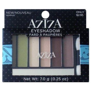 Aziza Eyeshadow, Memphis, 0.25oz/7.0g