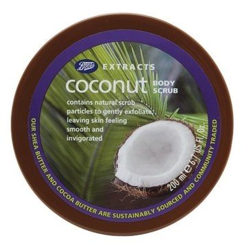 Boots Extracts Body Scrub Coconut