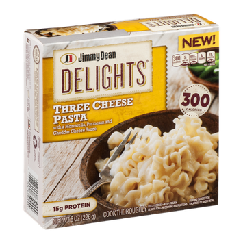 Jimmy Dean Delights Three Cheese Pasta