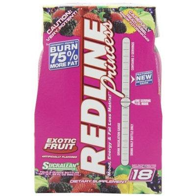 Vpx Sports / Redline VPX REDLINE Princess Energy and Fat Loss RTD Beverage, Exotic Fruit, 8-Ounce Bottles (Pack of 24)
