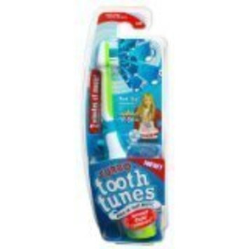 Turbo Tooth Tunes Battery Powered Toothbrush, Hannah Montana