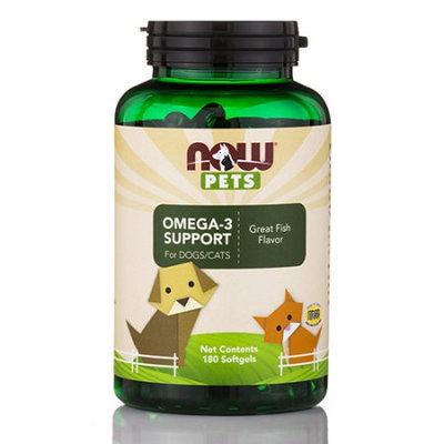 Pet Omega-3 Support Now Foods 180 Softgel