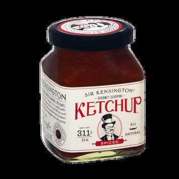 Sir Kensington Gourmet Scooping All Natural Spiced Ketchup