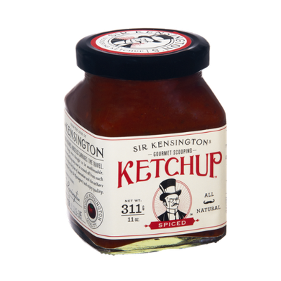 Sir Kensington Gourmet Scooping All Natural Spiced Ketchup