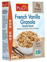 Peace Cereal French Vanilla Granola 11 oz
