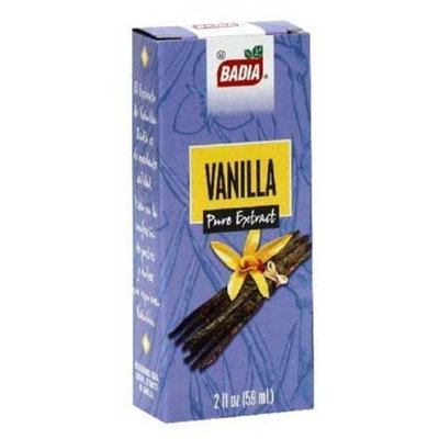Badia Pure Vanilla Extract -- 2 fl oz