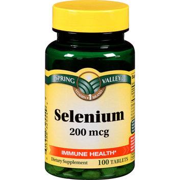 Spring Valley : Selenium Antioxidant Support Dietary Supplement