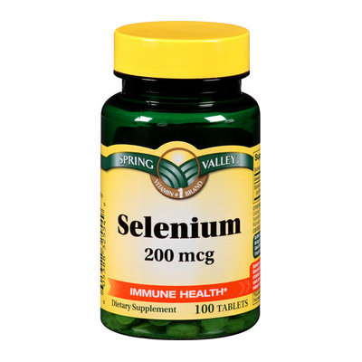 Spring Valley : Selenium Antioxidant Support Dietary Supplement