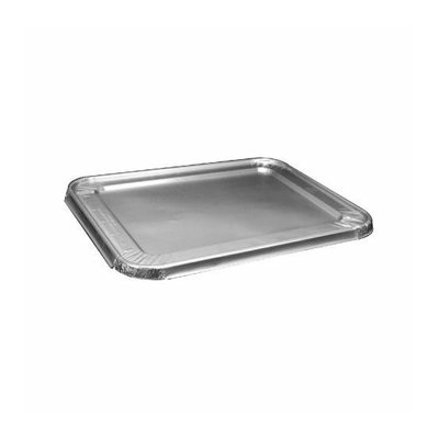 HANDI-FOIL 1'' Steam Table Pan Foil Lid 100/Pack Fits Half-Size Pan