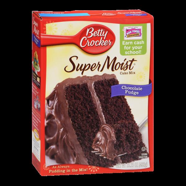 Betty Crocker Super Moist Chocolate Cake Ingredients