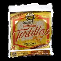 La Tortilla Factory Smart & Delicious Low Carb Large Tortillas