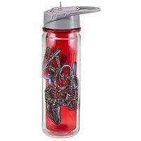 VANDOr Marvel Deadpool 18 Oz. Tritan Water Bottle [Deadpool, Water Bottle]