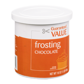 Guaranteed Value Frosting Chocolate