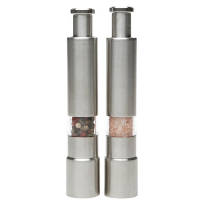 Variety of Spice Stainless Steel Thumb Grinder, 2 ea