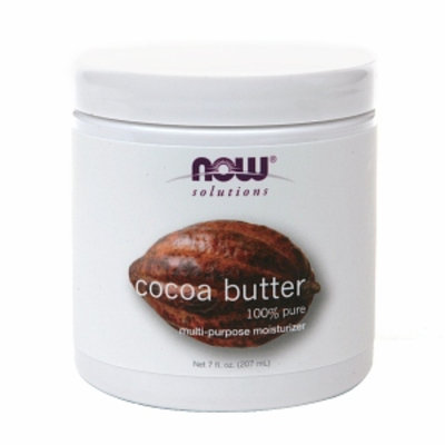 NOW Solutions Cocoa Butter 100% Pure Multi-Purpose Moisturzer
