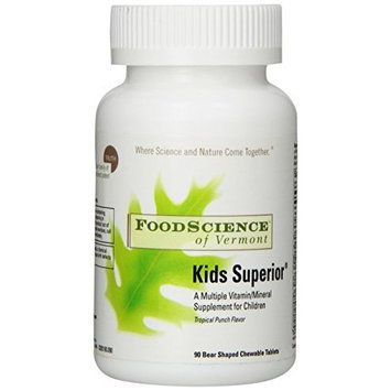 Food Science Of Vermont Kid's Superior Multi Vitamins, 90 Count