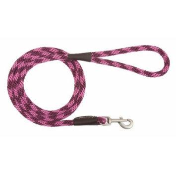 Mendota Products Mendota Snap Dog Leash - Diamond Ruby - 1/2 in x 4 ft