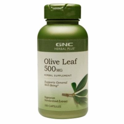 Gnc Herbal Plus Formula GNC Herbal Plus Olive Leaf 500 mg