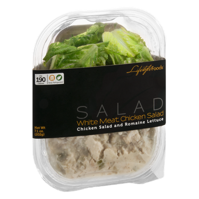 Lifestyle Foods White Meat Chicken Salad