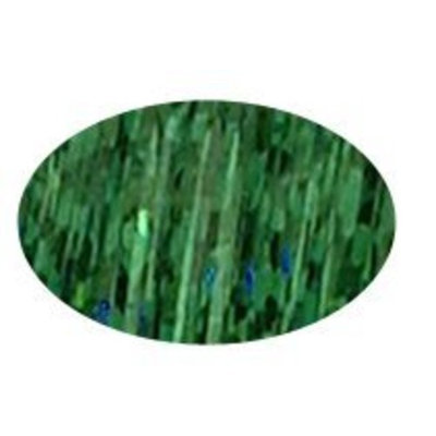 Piz-zaz Hair Glimmer Piz-zaz Forest Green Hair Extension Shimmer Tinsel + Hairart Brilliance Pin Tail Comb Add Shimmer and Glam to Your Hair That Last 10-12 Weeks