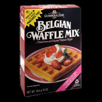 Classique Fare Belgian Waffle Mix