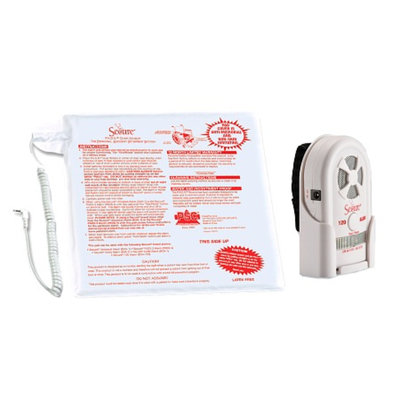 Secure 1-Year Chair Pad, 80-120 dB Alarm w/Nurse Call Interface SUA-120 & Holder