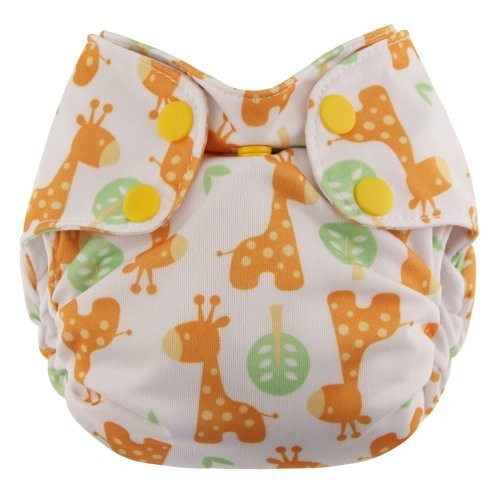 Swaddlebees Newborn Simplex All In One Diapers, Giraffe
