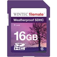 FileMate Wintec Filemate 16GB SDHC Weatherproof Memory Card Class 6, Purple