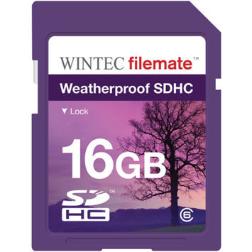 FileMate Wintec Filemate 16GB SDHC Weatherproof Memory Card Class 6, Purple