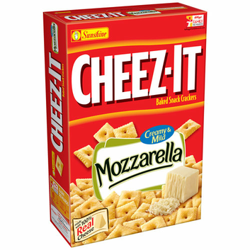 Cheez-It® Mozzarella Baked Snack Crackers