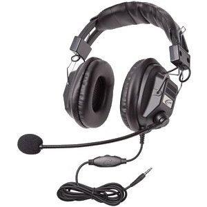 CALIFONE HEADSET W/ BOOM MIC VOLUME CONTROL 3.5mm VIA ERGOGUYS